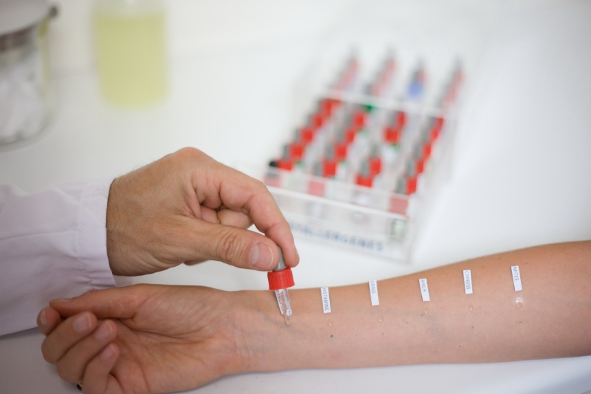 Где сдать анализы на аллергию ребенку в спб язык по краям красный и болит